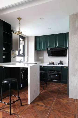 富裕型90平米一室一厅新古典风格厨房装修图片大全