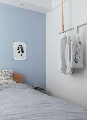 130平米三室一厅北欧风格卧室欣赏图