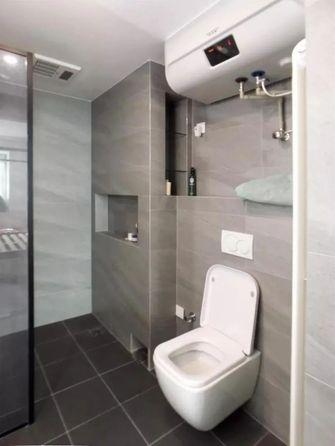 5-10万130平米一室一厅现代简约风格卫生间图片大全