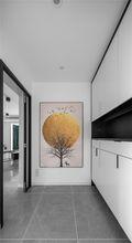 富裕型120平米三室两厅现代简约风格玄关图