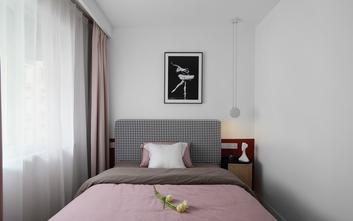 经济型70平米一室两厅北欧风格卧室设计图
