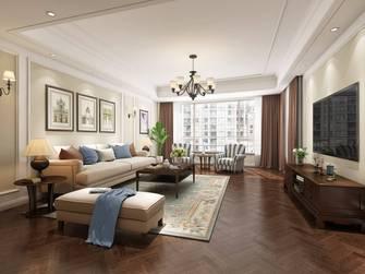 豪华型140平米三室两厅美式风格卧室效果图