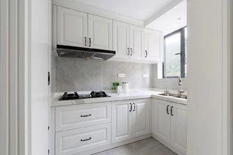5-10万80平米美式风格厨房欣赏图