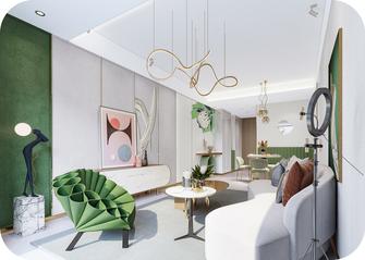 经济型一居室轻奢风格客厅设计图