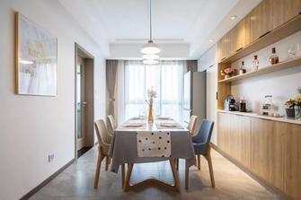 15-20万120平米三室一厅现代简约风格餐厅装修效果图