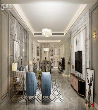 豪华型140平米欧式风格客厅装修效果图