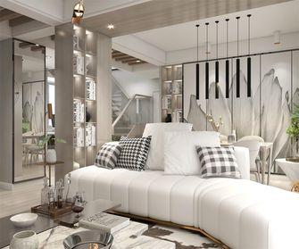 豪华型130平米复式现代简约风格客厅设计图
