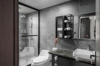 140平米别墅轻奢风格卫生间装修案例