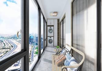 90平米日式风格阳台效果图