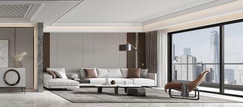 三室两厅欧式风格客厅欣赏图