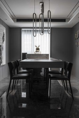 10-15万120平米三室三厅现代简约风格餐厅图