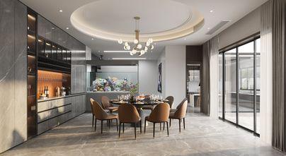 豪华型140平米别墅美式风格餐厅装修效果图