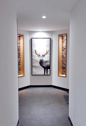 豪华型130平米三室两厅现代简约风格走廊装修图片大全