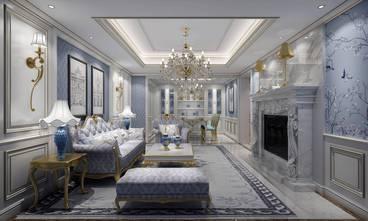 20万以上140平米三室两厅新古典风格客厅图片大全