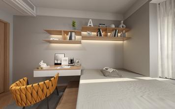 120平米三室一厅现代简约风格青少年房设计图