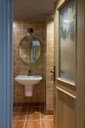 3万以下130平米三室一厅美式风格卫生间装修案例