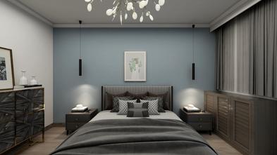5-10万90平米三室两厅现代简约风格卧室欣赏图