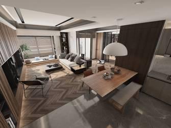 140平米三室两厅东南亚风格餐厅设计图