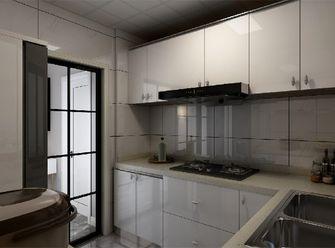 80平米一室一厅北欧风格厨房图片大全