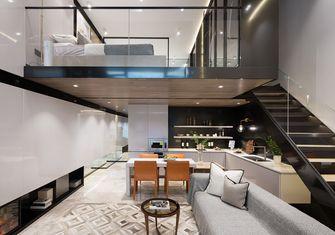 经济型100平米一室一厅轻奢风格客厅欣赏图