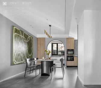 豪华型140平米三室三厅现代简约风格餐厅图片