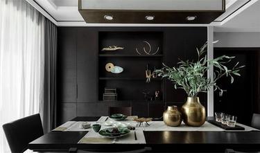 富裕型130平米三室两厅新古典风格餐厅图片大全