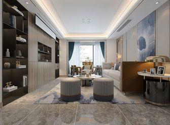 130平米三美式风格客厅图