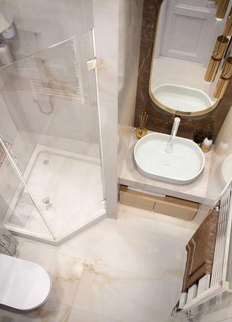 60平米一居室新古典风格卫生间装修图片大全