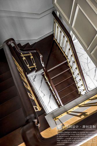 20万以上140平米复式法式风格楼梯间设计图