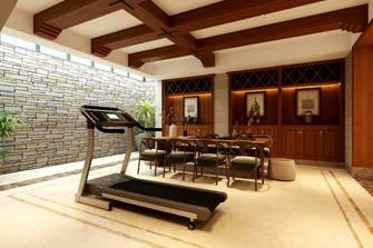 豪华型140平米别墅美式风格健身房图