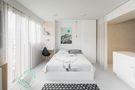 3-5万30平米小户型北欧风格卧室欣赏图