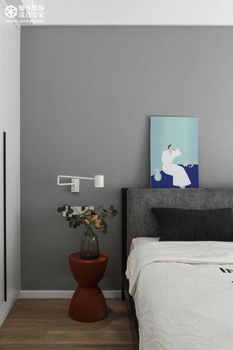 豪华型140平米三室两厅混搭风格卧室装修案例