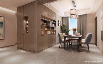 140平米四室四厅现代简约风格餐厅图