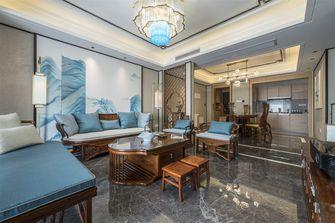 豪华型110平米三室一厅中式风格客厅设计图