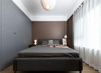 豪华型130平米三室一厅混搭风格卧室图片大全