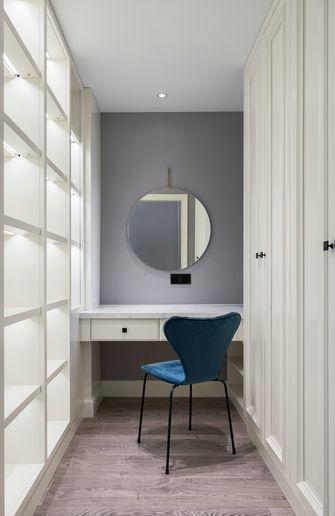 富裕型110平米三室一厅美式风格衣帽间装修案例