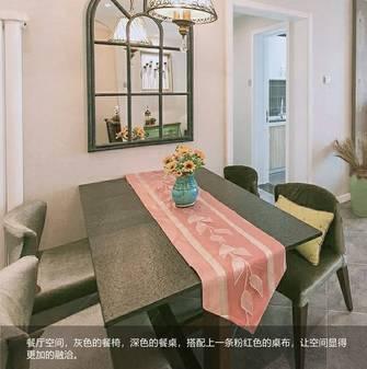 富裕型80平米美式风格餐厅装修效果图