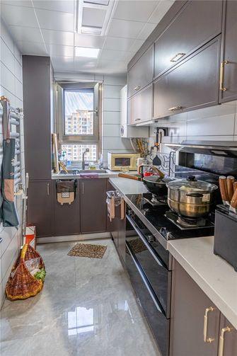 富裕型110平米三室一厅混搭风格厨房装修效果图