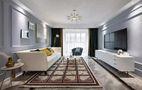 富裕型120平米三室两厅美式风格客厅设计图