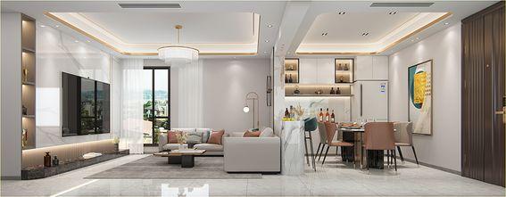 豪华型四室两厅轻奢风格客厅欣赏图