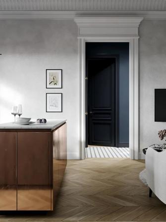 70平米三室两厅新古典风格玄关图片大全
