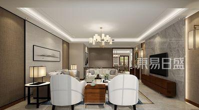 140平米欧式风格客厅装修案例