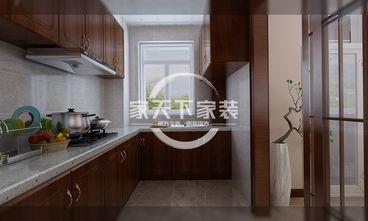 80平米一室一厅中式风格厨房设计图