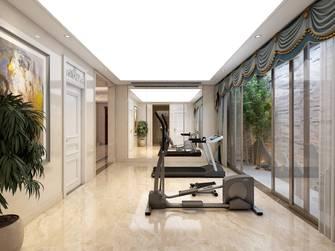 豪华型140平米别墅欧式风格健身房装修案例