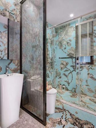 富裕型80平米三室一厅新古典风格卫生间图片大全