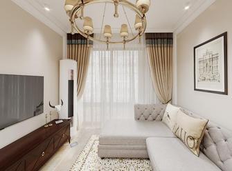 20万以上70平米美式风格客厅装修效果图