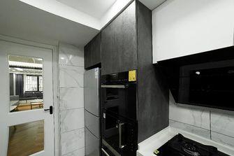 富裕型70平米一室一厅轻奢风格厨房图片