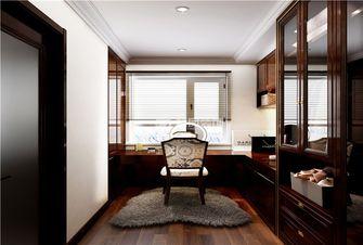 富裕型140平米三美式风格书房装修图片大全