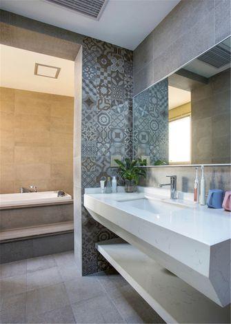 20万以上120平米三室一厅北欧风格卫生间装修效果图