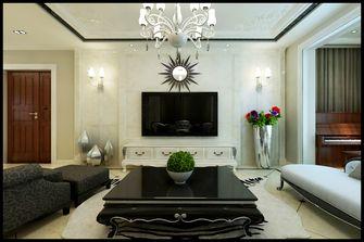 富裕型90平米三新古典风格客厅图片